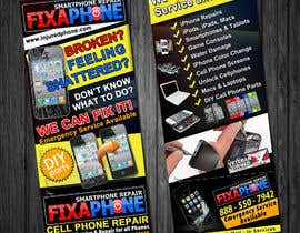 #11 for Graphic Design Flyer for Fix A Phone by qoaldjsk