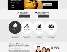 #35 cho Website Design for BFR Music Services bởi SadunKodagoda