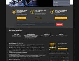 #30 pentru Website Design for BFR Music Services de către farhanpm786
