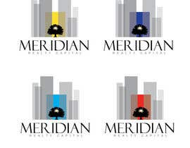 #602 para Logo Design for Meridian Realty Capital por SteveReinhart