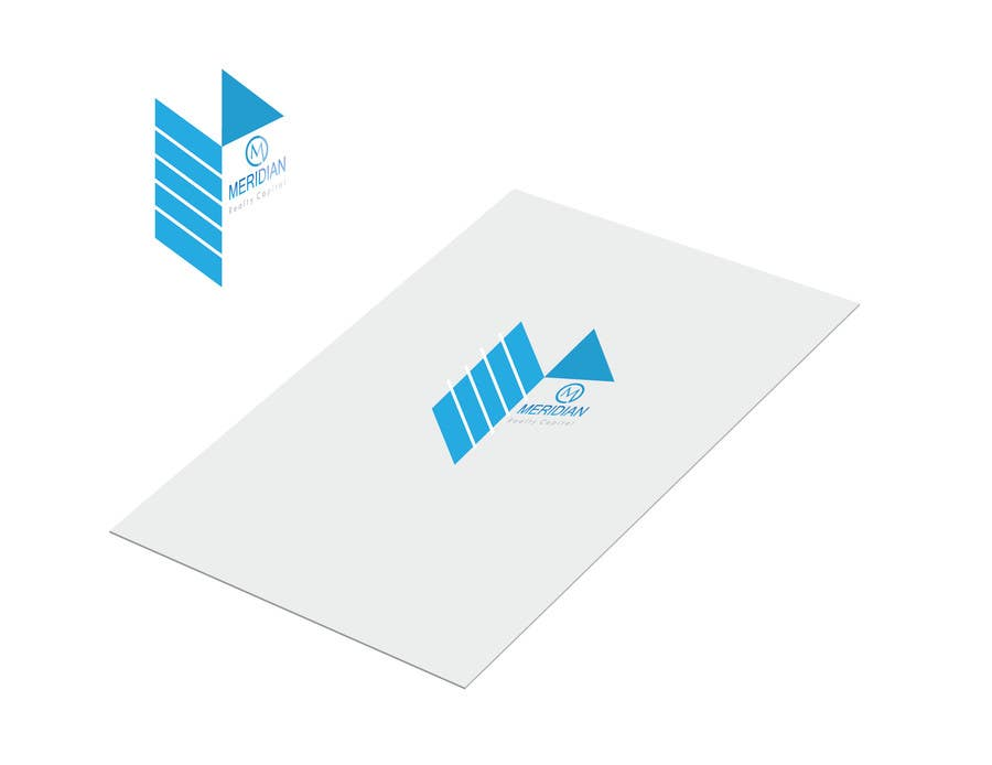 Kilpailutyö #                                        382                                      kilpailussa                                         Logo Design for Meridian Realty Capital