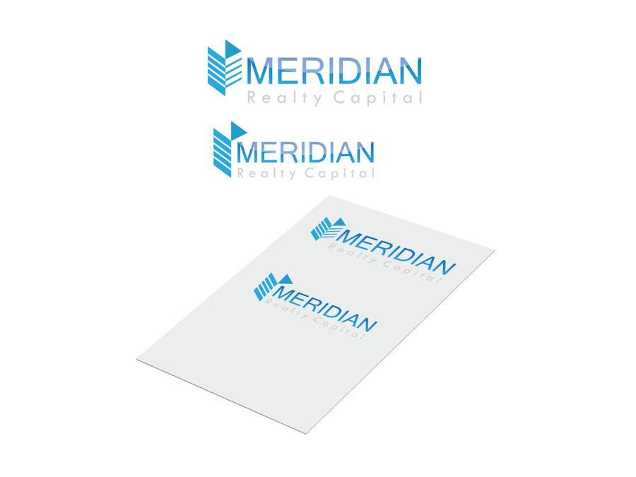 Kilpailutyö #                                        377                                      kilpailussa                                         Logo Design for Meridian Realty Capital
