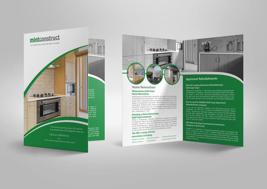 Entry 12 By Venkatbudarapu For Design A Brochure For A