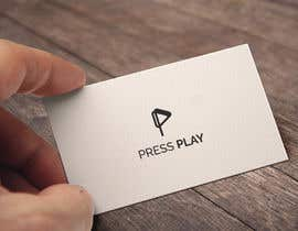 #68 for Press Play business logo by ramzdesigner