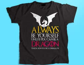 #62 cho Design T-shirt: Always be yourself... bởi libertBencomo