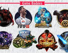 Nro 50 kilpailuun Creation of 8 video game badges (cover) / PVPSKILLS käyttäjältä MidouDesigns