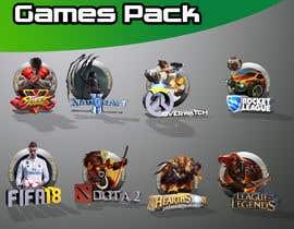 Nro 58 kilpailuun Creation of 8 video game badges (cover) / PVPSKILLS käyttäjältä MrSlimon