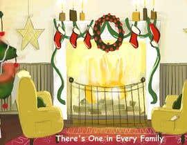 #30 for Christmas Fireplace Scene by cvarjotie