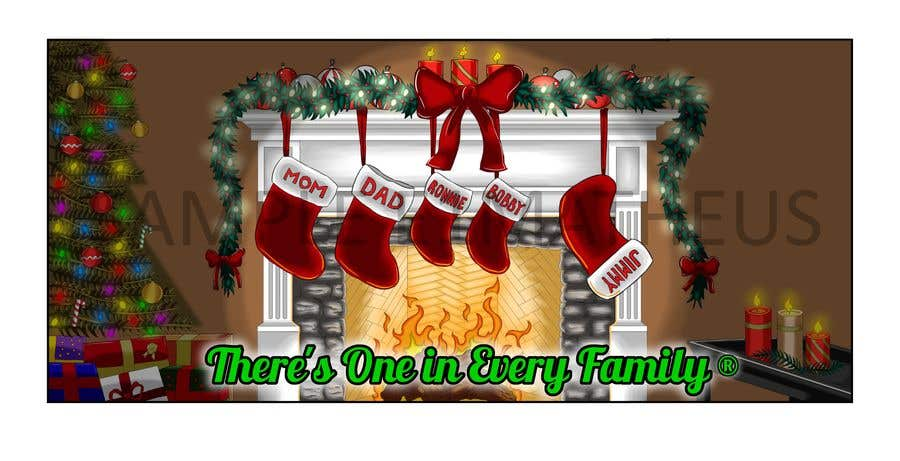 Entry #17 by E1matheus for Christmas Fireplace Scene