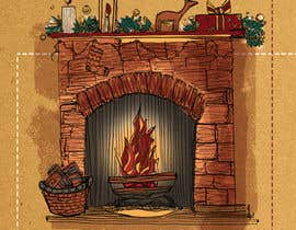 #15 for Christmas Fireplace Scene by francescaprovero