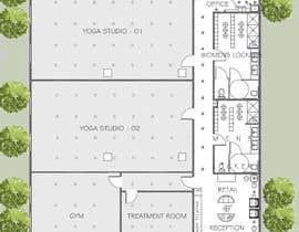 Nro 7 kilpailuun Design a yoga studio käyttäjältä Arkhitekton007