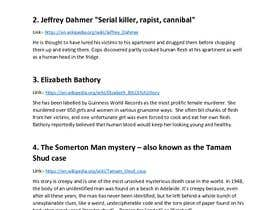 #7 , Compile a list of 5 Scariest and most disturbing Wikipedia pages found on the internet 来自 anushahiremath