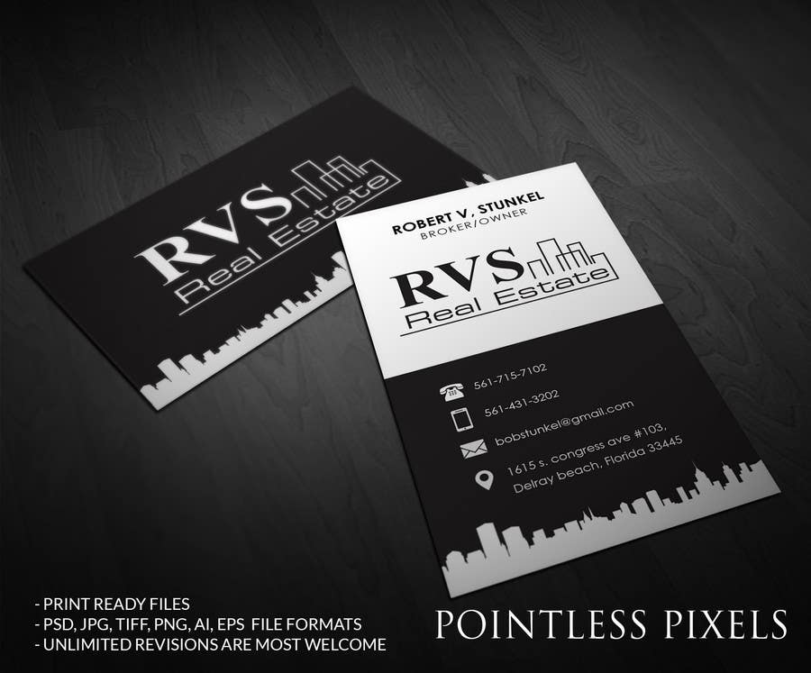 Entry 20 by pointlesspixels for design some business cards for real contest entry 20 for design some business cards for real estate company reheart