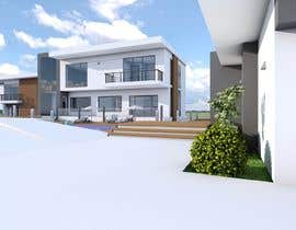 Mo7amedN tarafından I need a 3d view & perspective of my building plan, with elevation options. için no 16