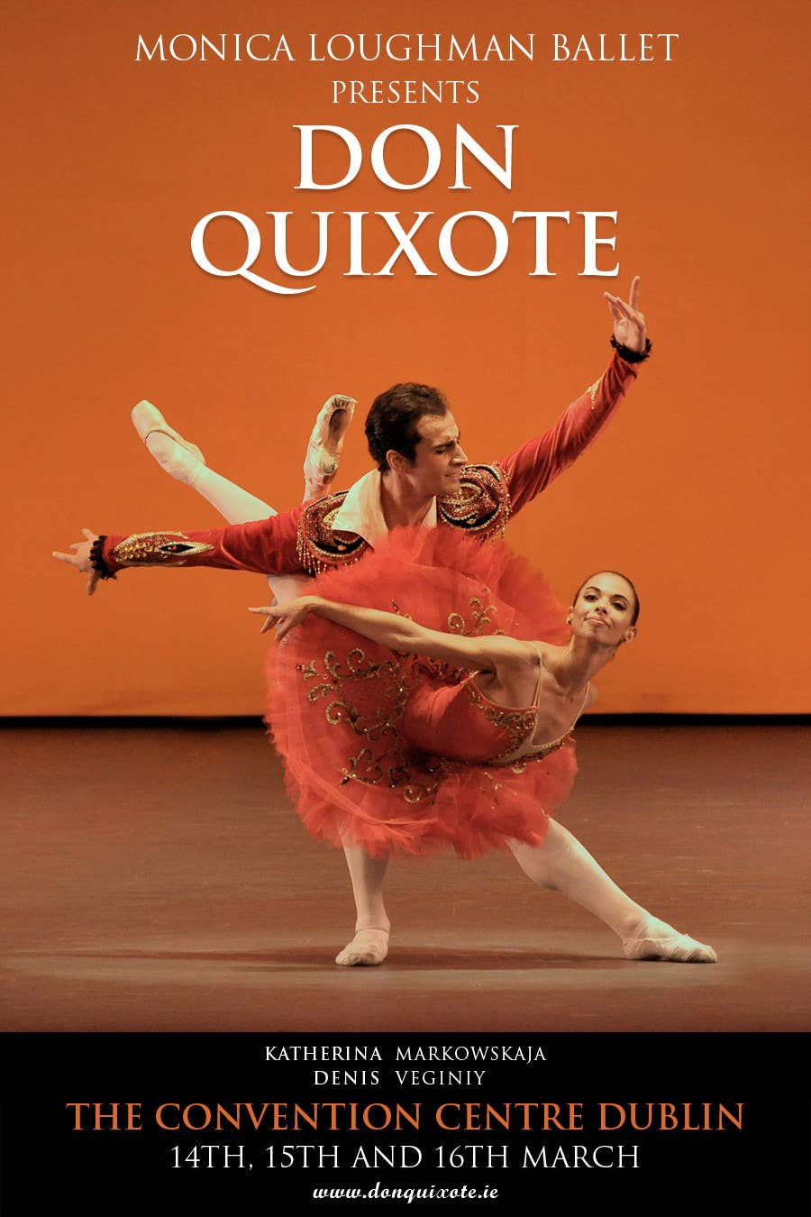 #250 for Graphic Design for Classical ballet event called Don Quixote by GDesignGe
