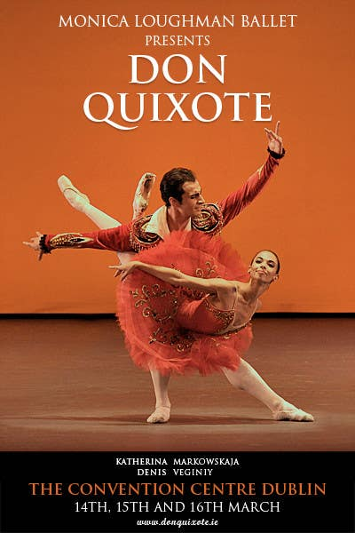#251 for Graphic Design for Classical ballet event called Don Quixote by GDesignGe