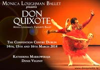 #166 for Graphic Design for Classical ballet event called Don Quixote by aqshivani