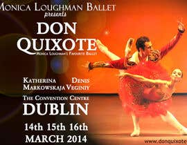 #220 untuk Graphic Design for Classical ballet event called Don Quixote oleh aqshivani