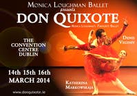 #224 for Graphic Design for Classical ballet event called Don Quixote by aqshivani