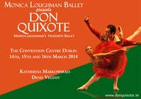 #119 for Graphic Design for Classical ballet event called Don Quixote by aqshivani