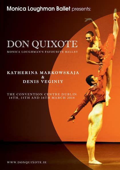 #29 for Graphic Design for Classical ballet event called Don Quixote by BuDesign