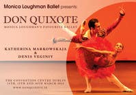 Graphic Design Contest Entry #132 for Graphic Design for Classical ballet event called Don Quixote