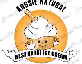 "#13 for Designs of ""DESI KOTHI ICE CREAM"" Logo, pamphlet, visiting card and banner by jho07"