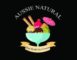"#6 for Designs of ""DESI KOTHI ICE CREAM"" Logo, pamphlet, visiting card and banner by Ashraful079"