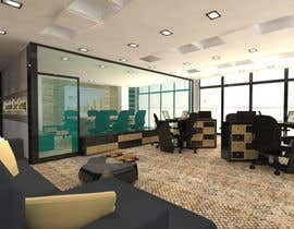 #8 for Small Office Interior Design 3D Realization by abdomostafa2008