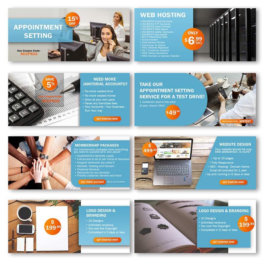 Konkurrenceindlæg #23 for Design 7 Advertising Banners