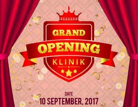 #16 for Grand Opening Clinic af creativesailor