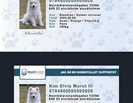 #81 cho Design a Pet ID-Card (for dogs and cats) bởi JulioEdi