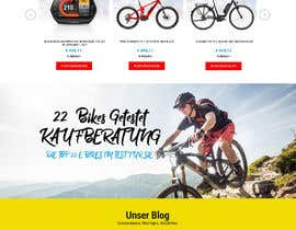 #18 for Start Page e-bikes4you.com Shop by fourtunedesign
