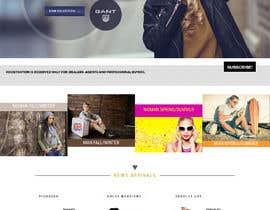 #10 for Hire a Graphic Designer for Fashion Banners (HOME PAGE) by saidesigner87