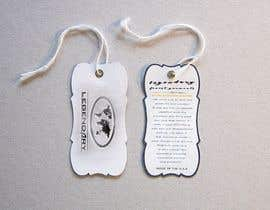 #40 for Design Hang tag front and back by keenSmart