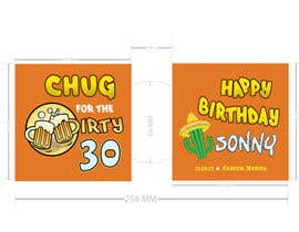 #10 for Design a koozie for a 30th birthday by dream8890