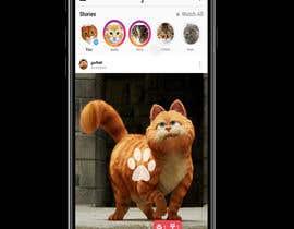 Nro 2 kilpailuun Design a mockup for an app like Instagram käyttäjältä Mi3331