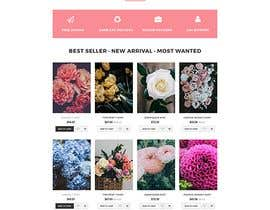 #9 for Flower Shop Website Homepage Layout   Design ONLY! Like 1800Flowers by kibriya01