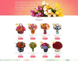 #6 for Flower Shop Website Homepage Layout   Design ONLY! Like 1800Flowers by biplobofficial