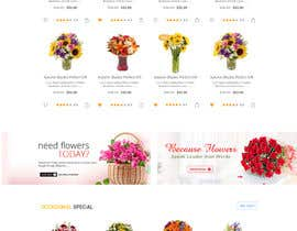 #13 for Flower Shop Website Homepage Layout   Design ONLY! Like 1800Flowers by Ganeshdas