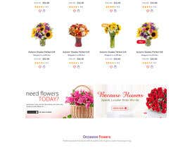 #17 for Flower Shop Website Homepage Layout   Design ONLY! Like 1800Flowers by Ganeshdas