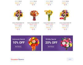 #23 for Flower Shop Website Homepage Layout   Design ONLY! Like 1800Flowers by Ganeshdas