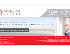 juliawhite24 tarafından Design a email signature. The signature must advertise the referel prgram as we offer Coles ans woolworths gift cards for successful referals. It has to be modern and good looking. için no 15