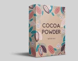 #36 untuk I need a paper box design on cocoa powder oleh Inkfiend