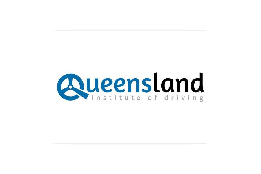 Konkurrenceindlæg #                                        39                                      for                                         Logo Design for Queensland Institute of Driving