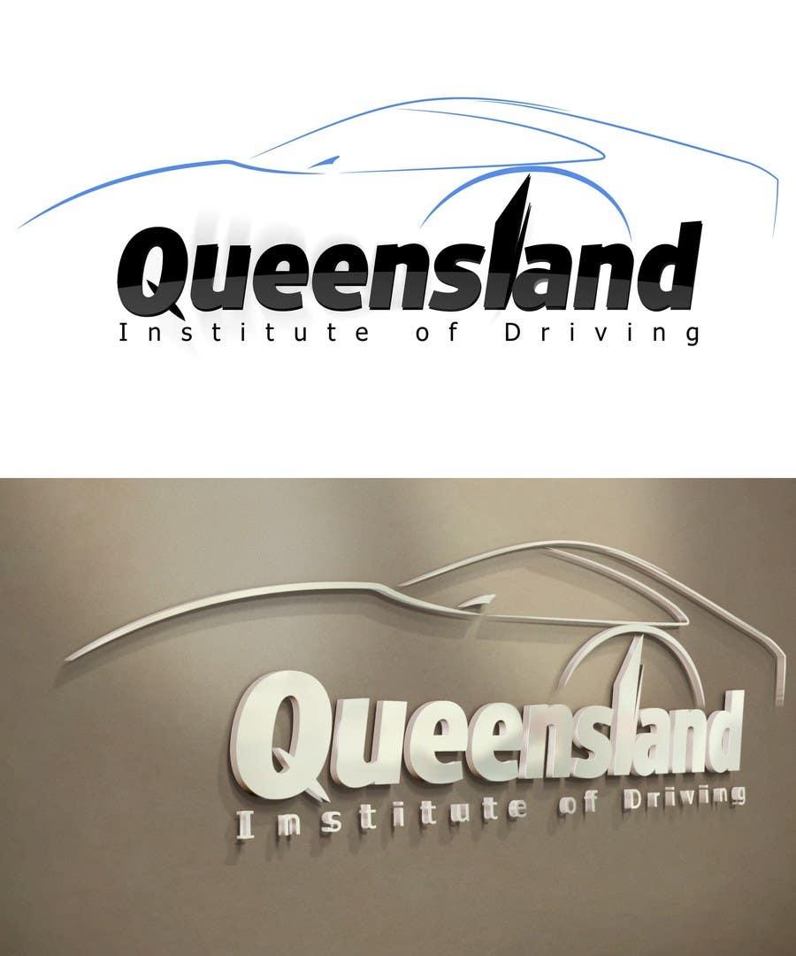 Inscrição nº                                         226                                      do Concurso para                                         Logo Design for Queensland Institute of Driving