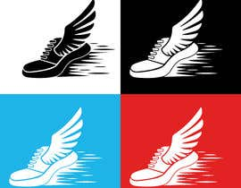 #1 for Create an original running shoe with a wing for a running shirt by clickswar