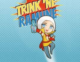 #39 for Design a cartoon character for RAMUNE LEMONADE by kirasicart