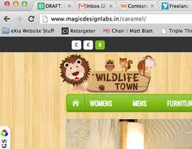 nº 124 pour Logo Design for Wildlife Town par venug381