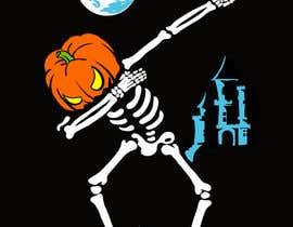 #4 for Pumpkin skeleton Dabbing Drawing by astakhovalexalex